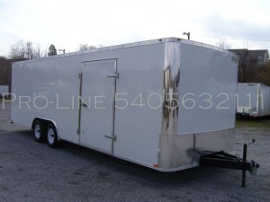 Enclosed Trailers Elkhart In Pro Line Trailers