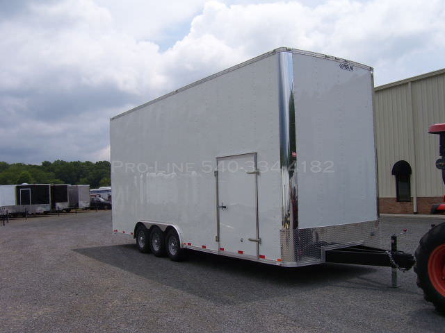 Stacker Trailer For Sale >> 8 5 24 Enclosed Stacker Trailer