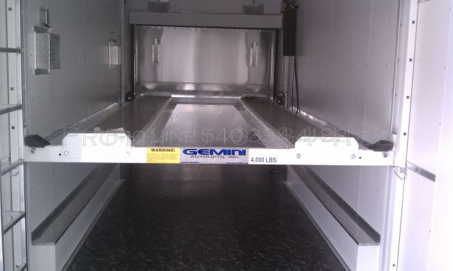 8 5x30 Enclosed Stacker Trailer Pro Line Trailers