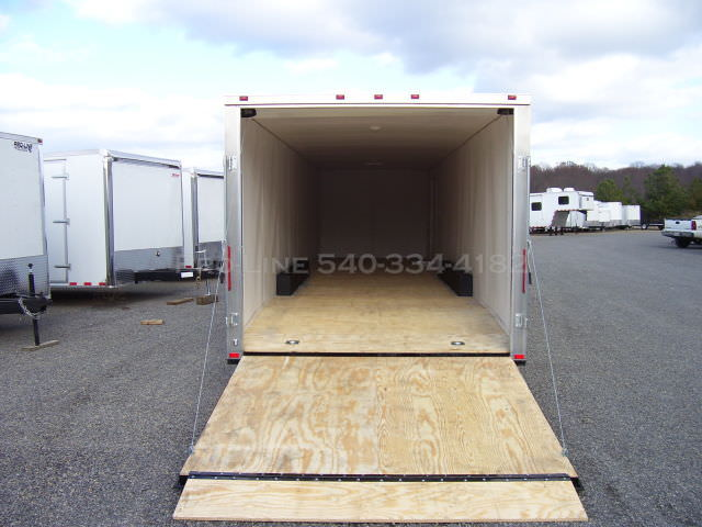 8 5x34 Enclosed Deluxe Trailer Pro Line Trailers High
