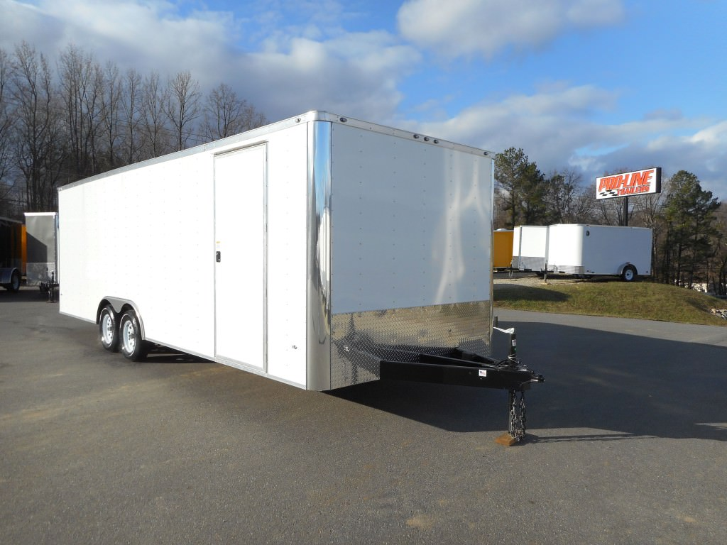 8 5x24 Enclosed Trailer Pro Line Trailers Virginia