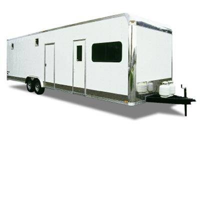 Enclosed Living Quarters Trailers Pro Line Trailers