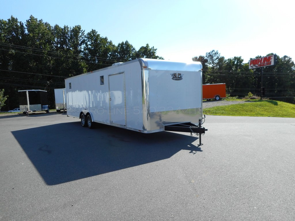 8 5x28 Enclosed Vintage Outlaw Trailer Pro Line Trailers