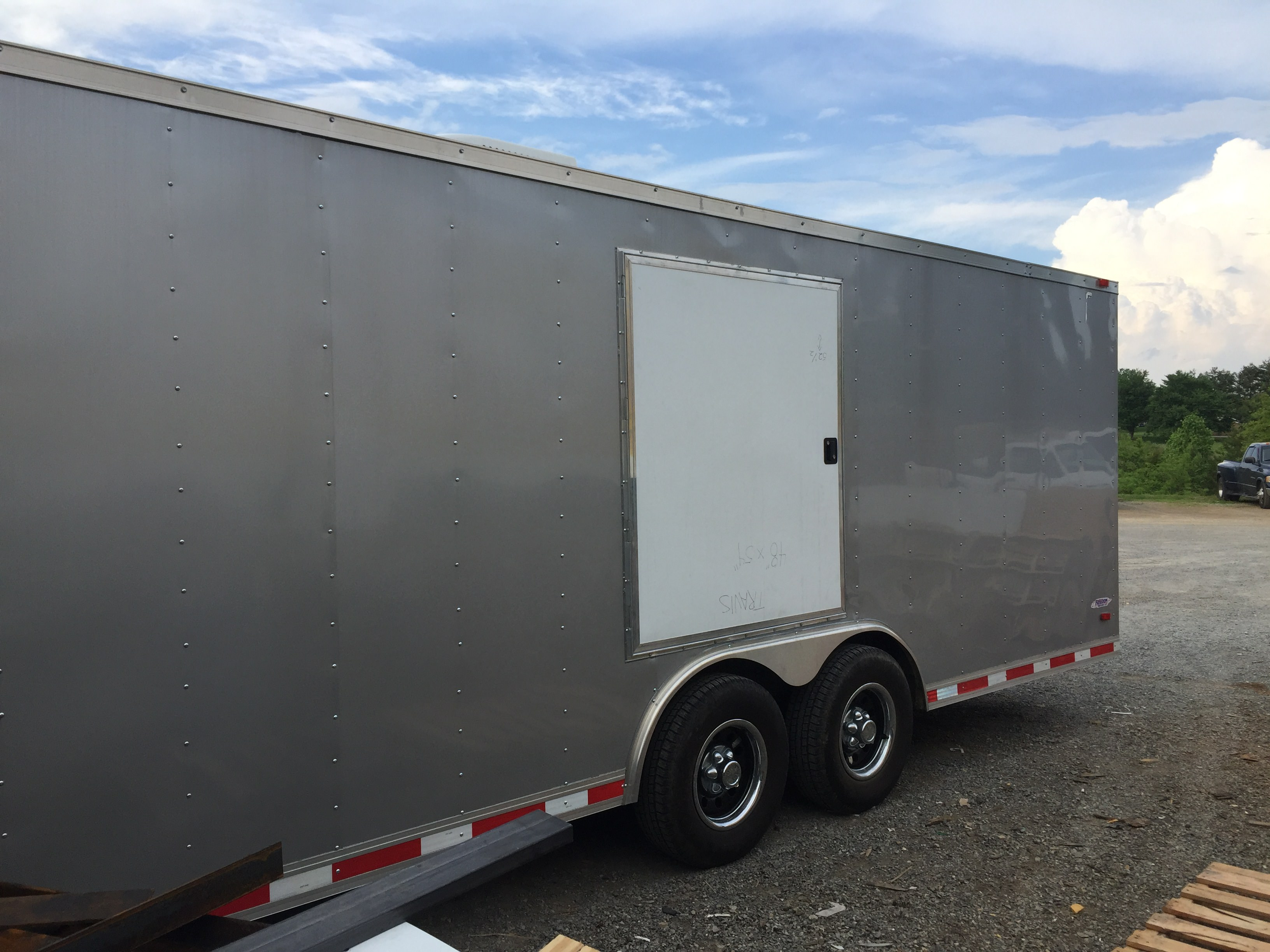 Trailer Repair Service Maintenance Pro Line Trailers Homesteader Wiring Diagram Drivers Escape Door Customization