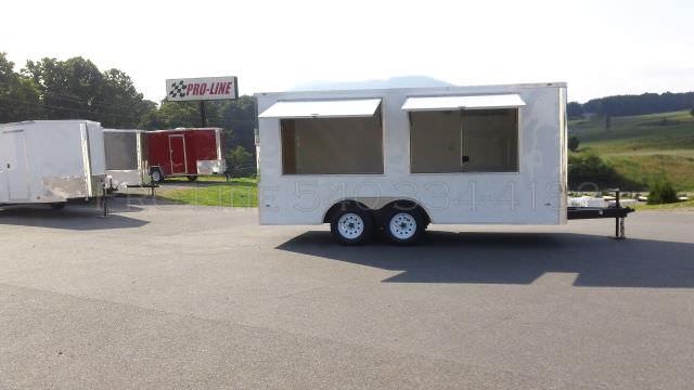 8 5x16 Enclosed Vending Trailer Pro Line Trailers