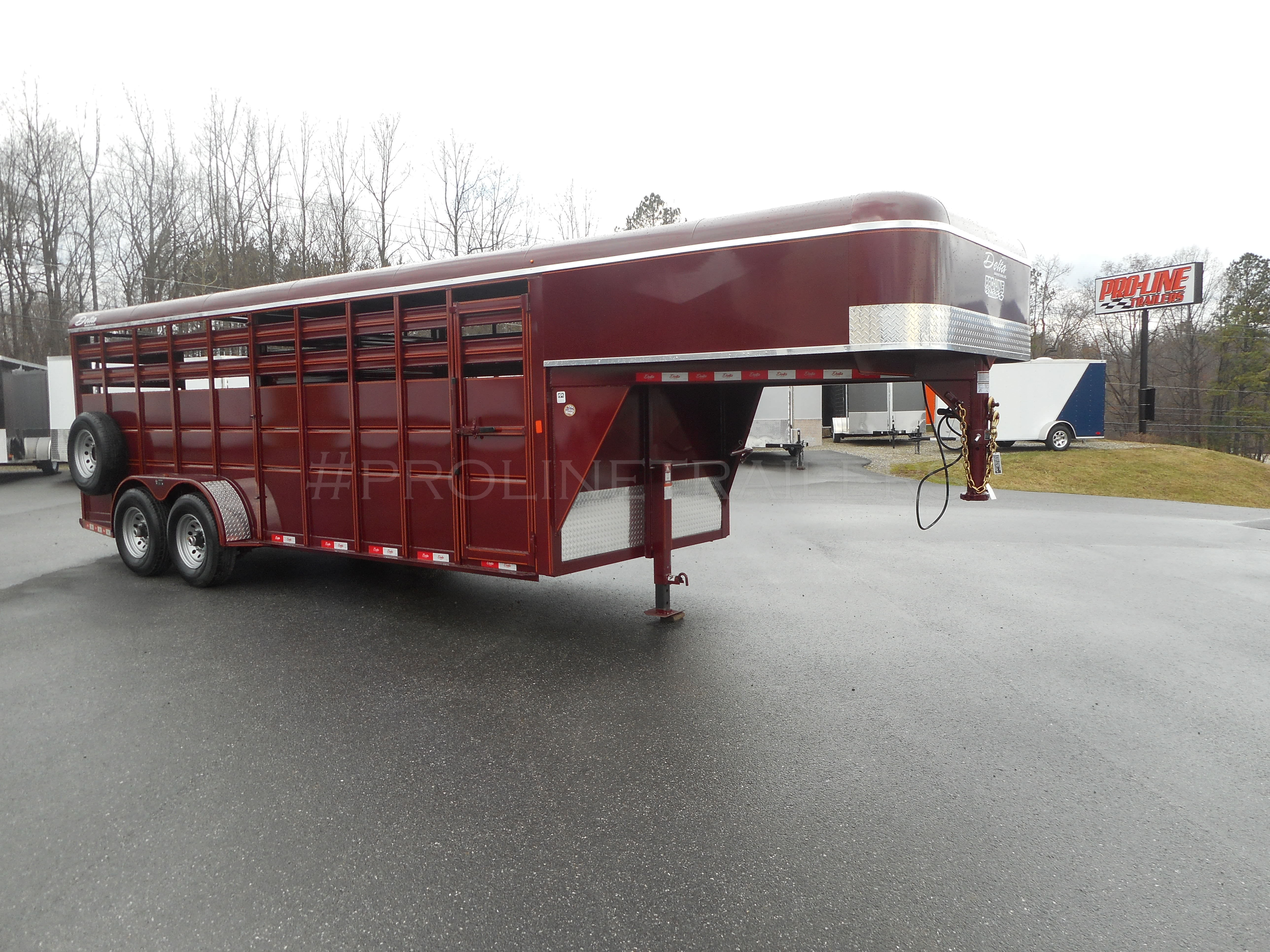 Gooseneck Stock Trailer For Sale By Pro Line Trailers Virginia