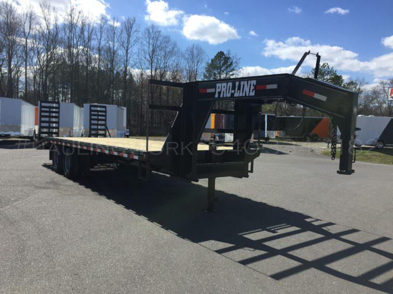 22 000 Gvw Gooseneck Tandem Dual Deck Over Flatbed Pro