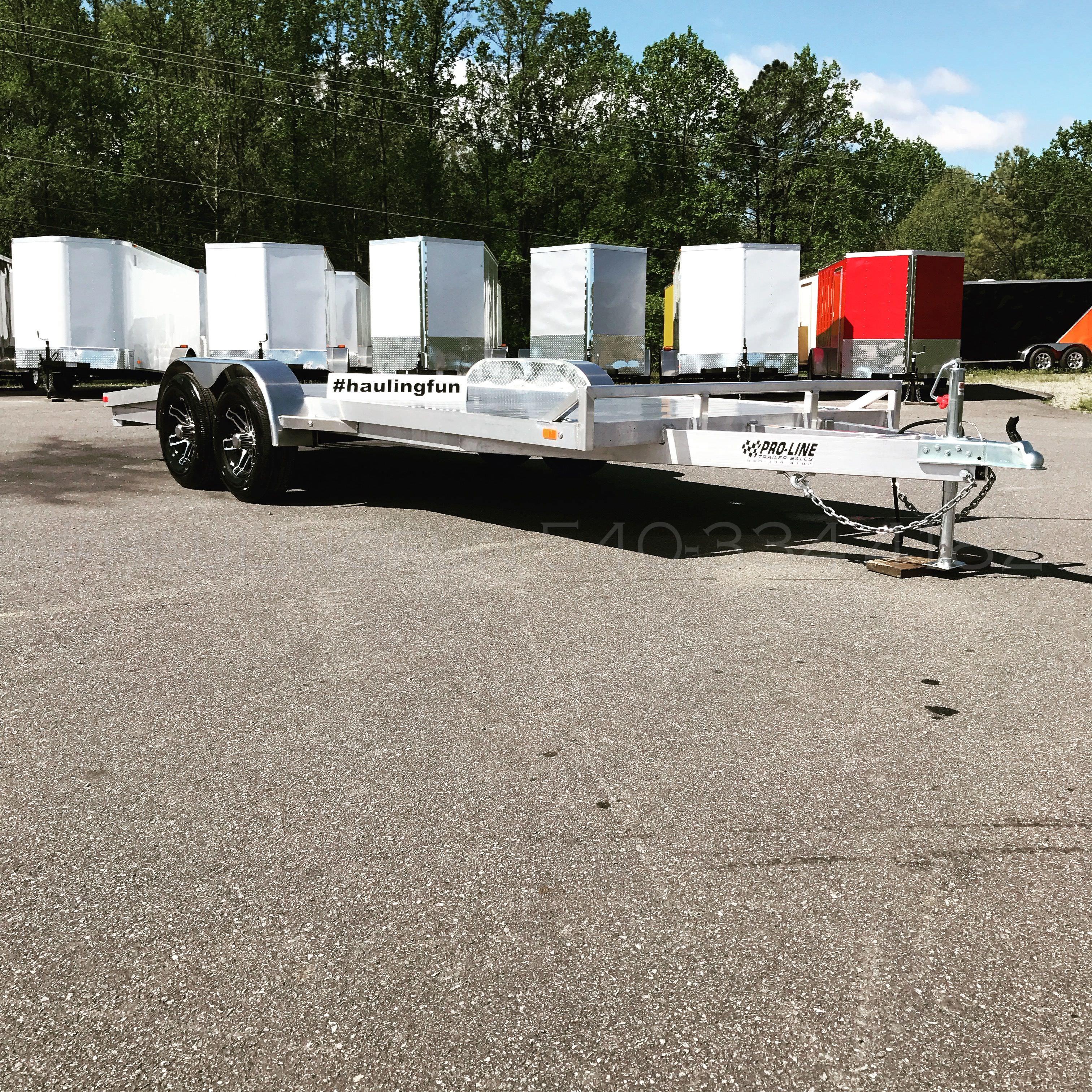18 39 aluminum car trailer 10 000 gvw pro line trailers. Black Bedroom Furniture Sets. Home Design Ideas