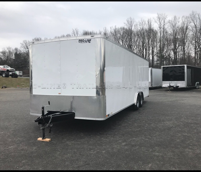 8 5x24 Enclosed Car Trailer Cargo Trailers For Sale