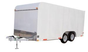 Закрытый грузовой прицеп предлагает много преимуществ